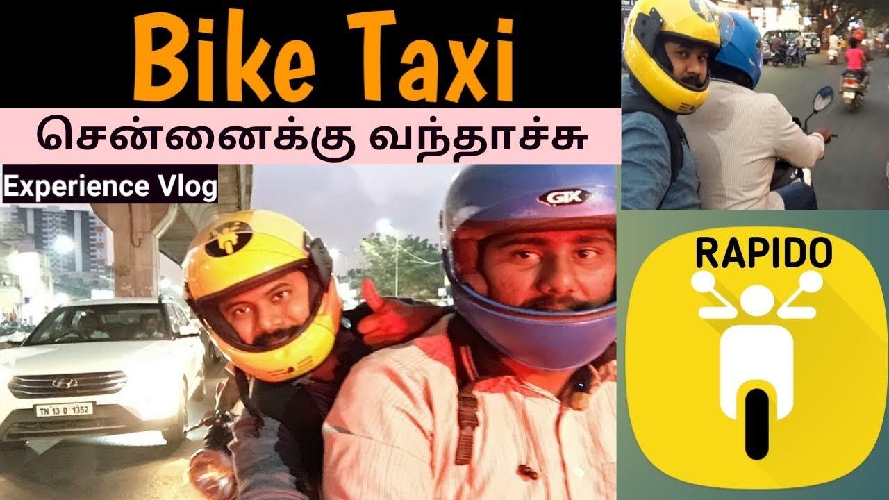 Bike Taxi In Chennai Rapido Chennai Vlogger Tamil Youtube