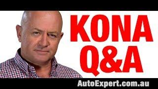 Top 13 Questions you asked about the Hyundai Kona | Auto Expert John Cadogan | Australia