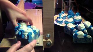 Cutting Satin Sheets Cake Soap