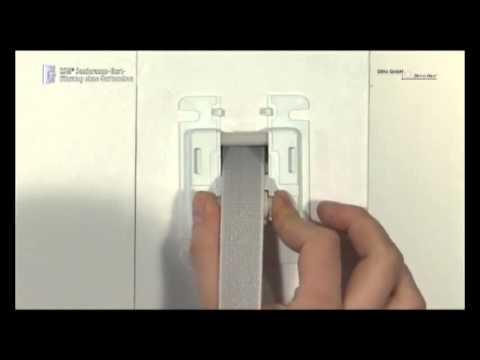 Favorit NEU: Montage der DiHa ESM Sanierungs Gurtführung für Rolladengurt DM17