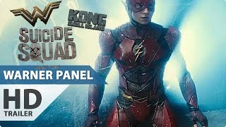 Warner Bros Panel Comic-Con 2016 - ALL Trailer + Clips (Justice League, Wonder Woman...)