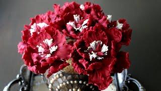 Gumpaste Wild Peonies Tutorial   Peonies   Cake Decorating Tutorial   Sugar Flowers #sugarroses