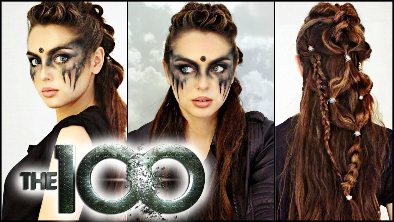Commander Lexa Hair Makeup Tutorial