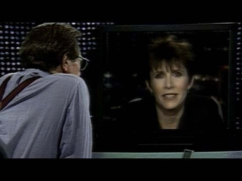 Carrie Fisher's full 1990 CNN inteview