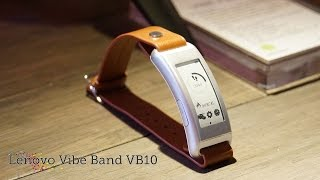 Lenovo Vibe Band VB10 | Hands-on