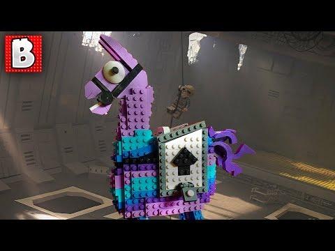 Fortnite Loot Llama on a Jakku Star Destroyer!   TOP 10 MOCs of the Week