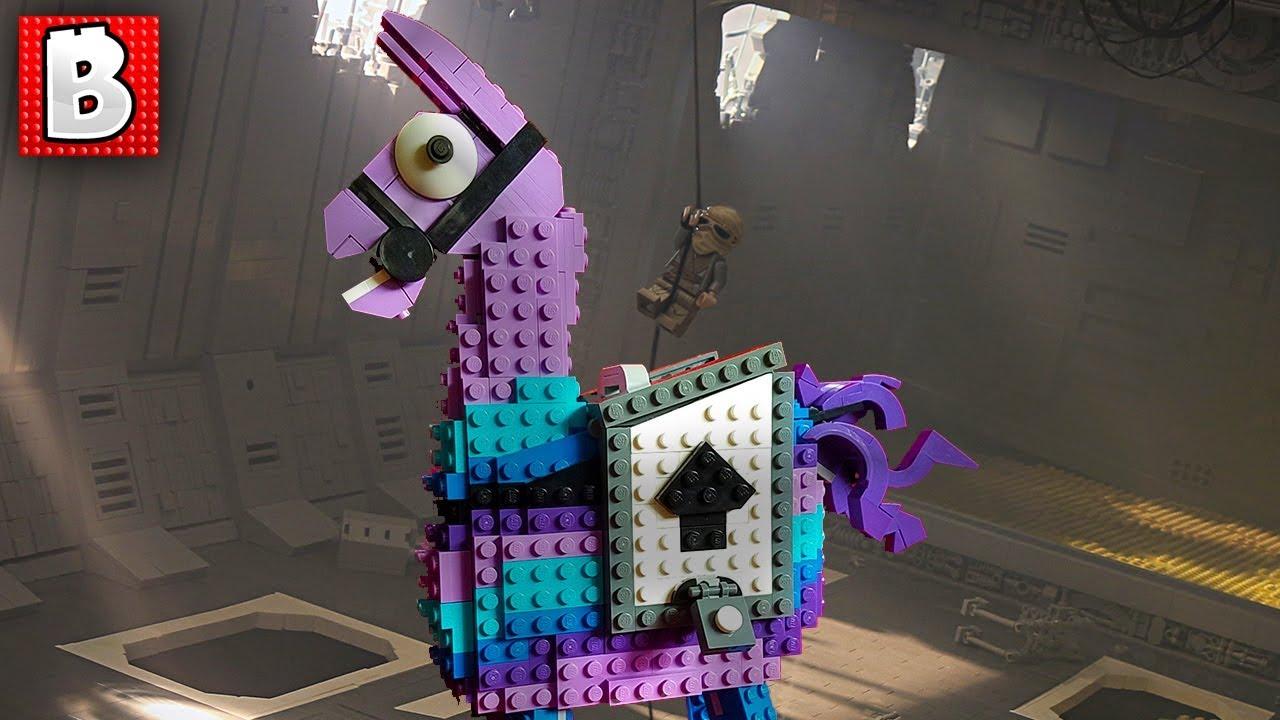 Fortnite Loot Llama On A Jakku Star Destroyer TOP 10