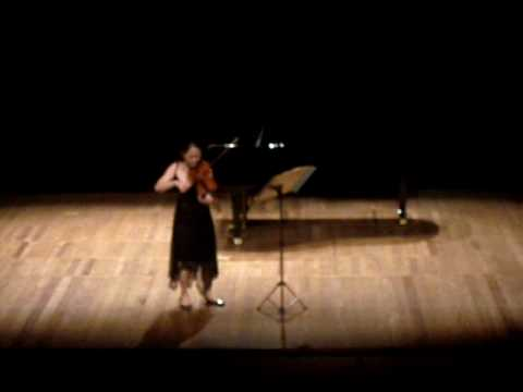 E.Ysaye - Sonata 4 - Hye-Jin Kim - FEMUSC 2010 - part I