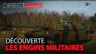 DÉMINEURS, CHARS, CAMIONS.... : AUX COMMANDES D'ENGINS MILITAIRES !