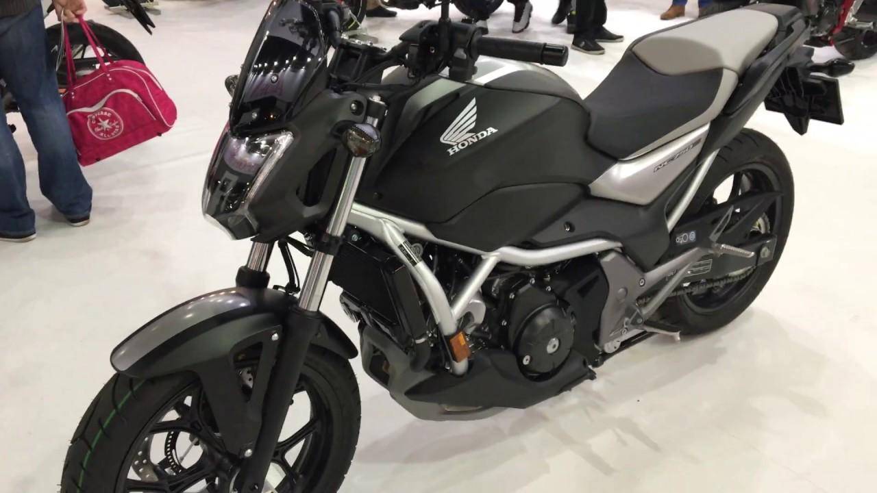 2017 Honda NC750S DCT - YouTube