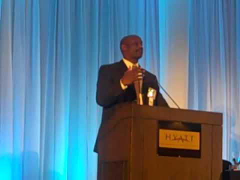 Dr  Charles Robinson Speaks At The BBCB Conference In Tampa, FL