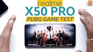 Realme X50 Pro: PUBG Gaming Test | Battery drain test | Heating test | AnTuTu score