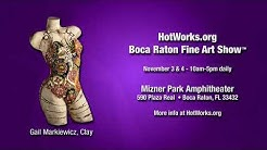 Boca Raton Fine Art Show - November 3 & 4, 2018 - Mizner Park Amphitheater
