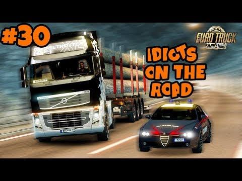 Euro Truck Simulator 2 Multiplayer: IDIOTS on the Road | Random & Funny Moments | #30