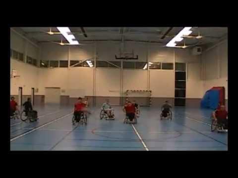 Entrainement de Rugby à 7 Fauteuil (7's Wheelchair Rugby Union) à Vichy