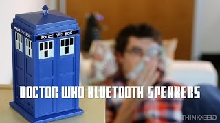 Doctor Who Bluetooth Speakers from ThinkGeek