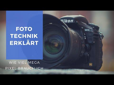 Wie viele Megapixel brauchst Du für gute Fotos ?