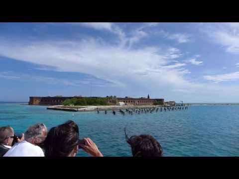 Dry Tortugas National Park, Florida - Fort Jefferson Arrival HD (2016)