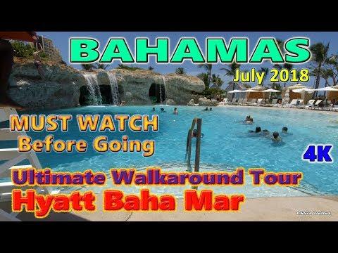Hyatt Baha Mar Walkaround Tour Pools, SLS, Rosewood, Grounds July 9-16 2018