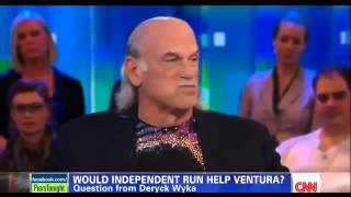 Who will be US President in 2016  -Jesse Ventura on CNN Piers Morgan | Republican Candidate