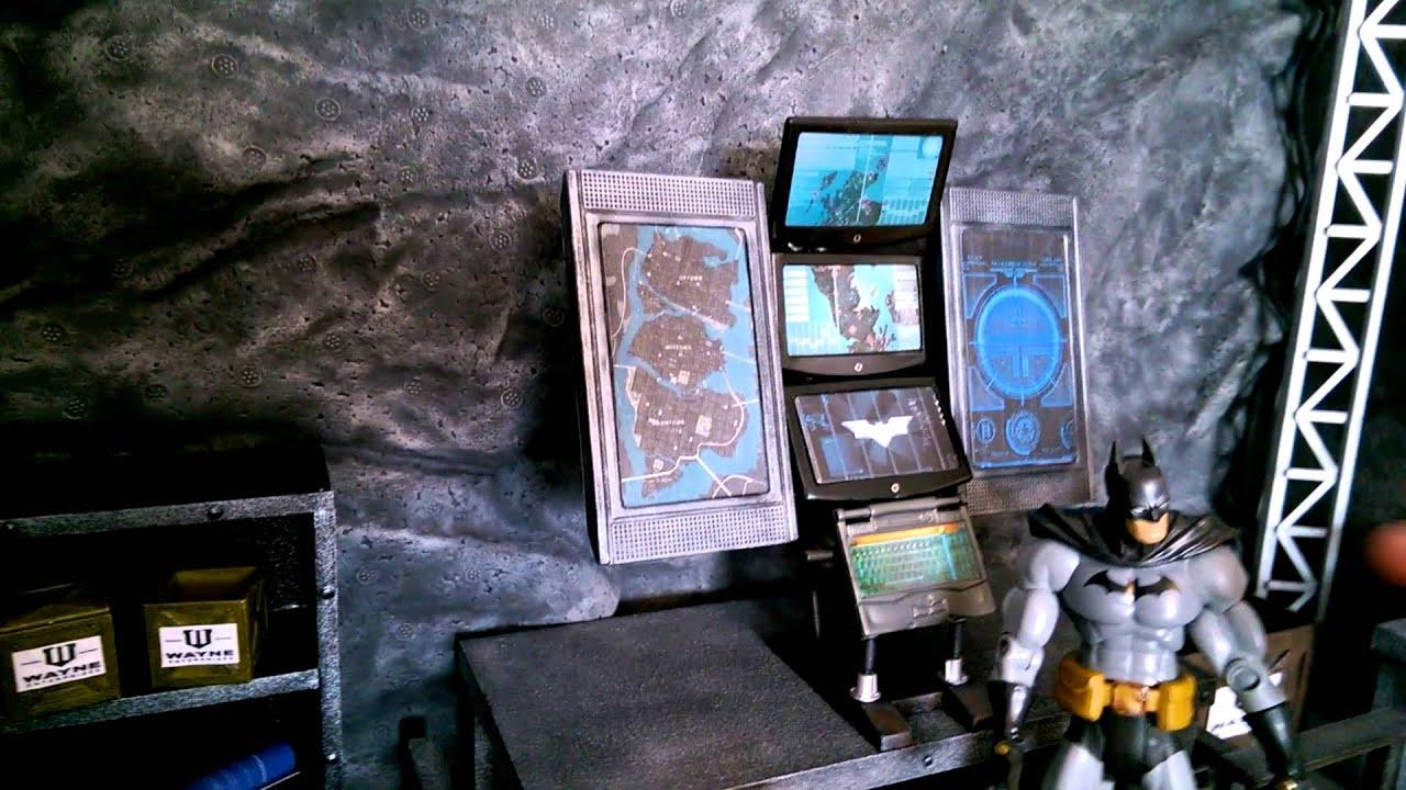 1:12 Batman Cave Custom Diorama