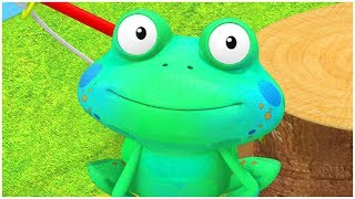 Best Videos for Toddlers | FUNNY FROG CARTOON | Everythings Rosie