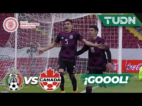 ¡GOOOL! ¡Huele a Olímpicos! | México 2-0 Canadá | Semifinal - Preolímpico 2021 | TUDN