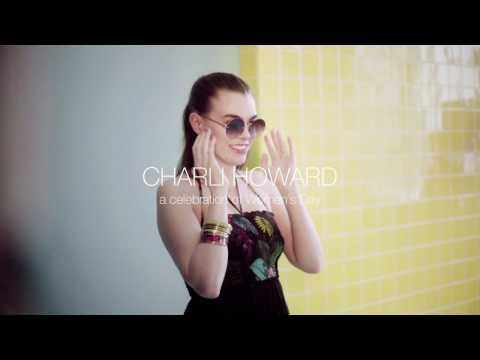 Desigual - Charli Howard celebrates Woman´s Day