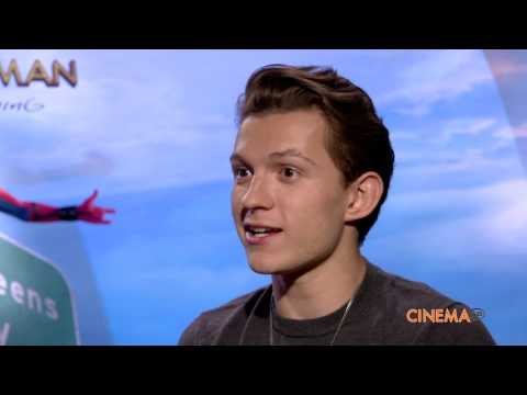 Tom Holland and director Jon Watts talk...