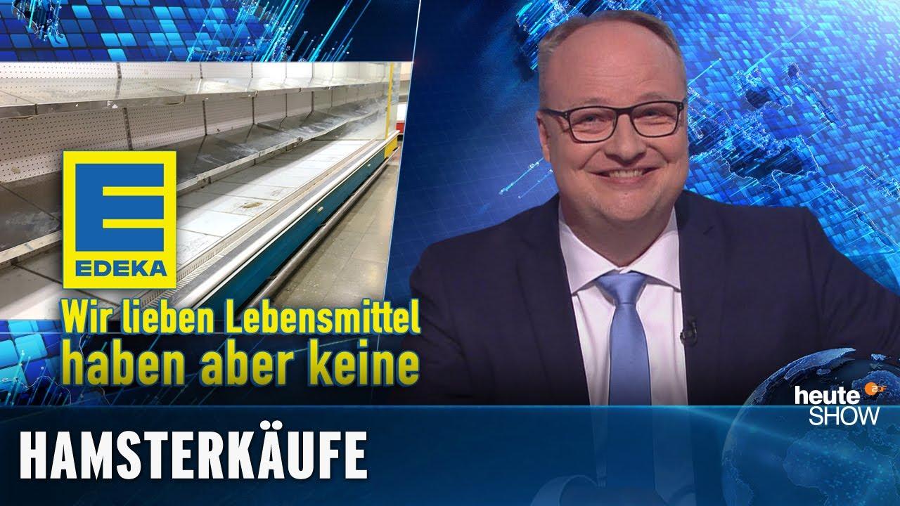 Coronavirus: Warum hamstern die Deutschen Nudeln und KLOPAPIER? | heute-show vom 06.03.2020