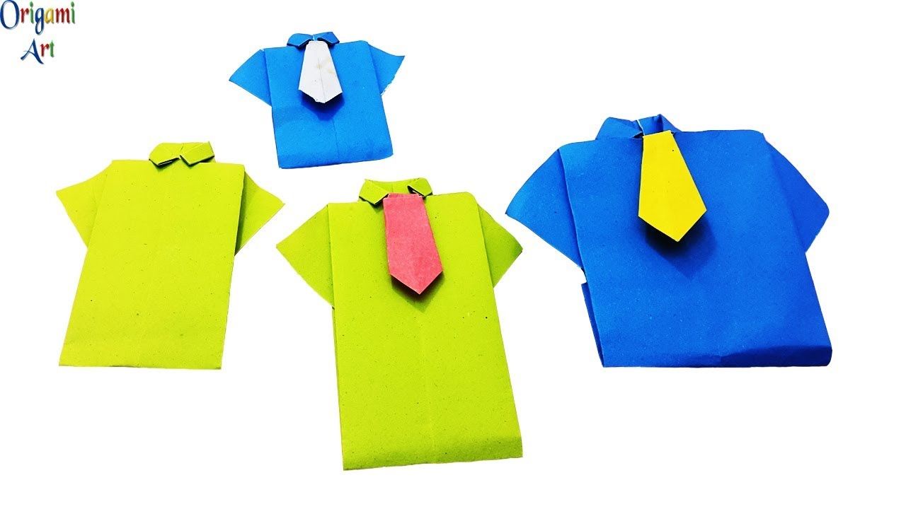 Money Origami Shirt Folding Instructions | 720x1280