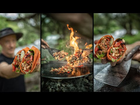 🌯 SIMPLY THE BEST BURRITO! – EPIC ASMR COOKING ⚒️