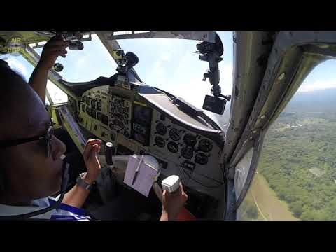 Real Piloting!!! Patricia's Dash 6 Twin Otter Takeoff from Honiara, Solomon Islands! [AirClips]