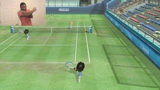 Wii Sports Club Gameplay #1: Tennis Warm-Up (Facecam)
