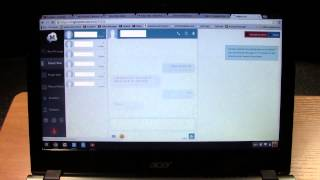 Chromebook - How to Send & Receive Text Messages | H2TechVideos