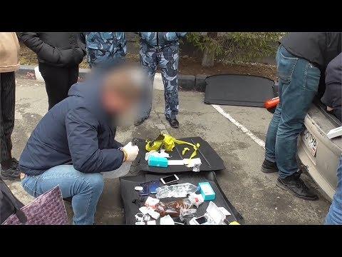 Опера НОН в зоне изъяли наркоту, спирт, коньяк и 8 мобил. Real Video
