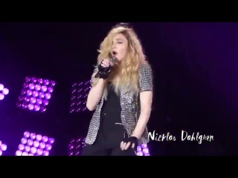 Madonna like a virgin tour dvd