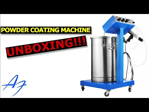 Unboxing: Powder Coating Machine WX-958