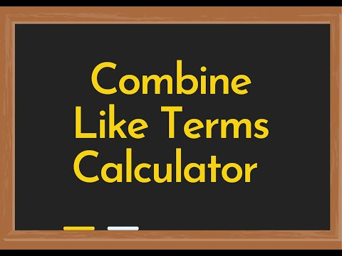 Calculator Soup Combining Like Terms - Image Mag
