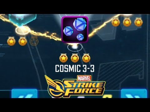 Cosmic 3-3 How To Beat - Marvel Strike Force - MSF