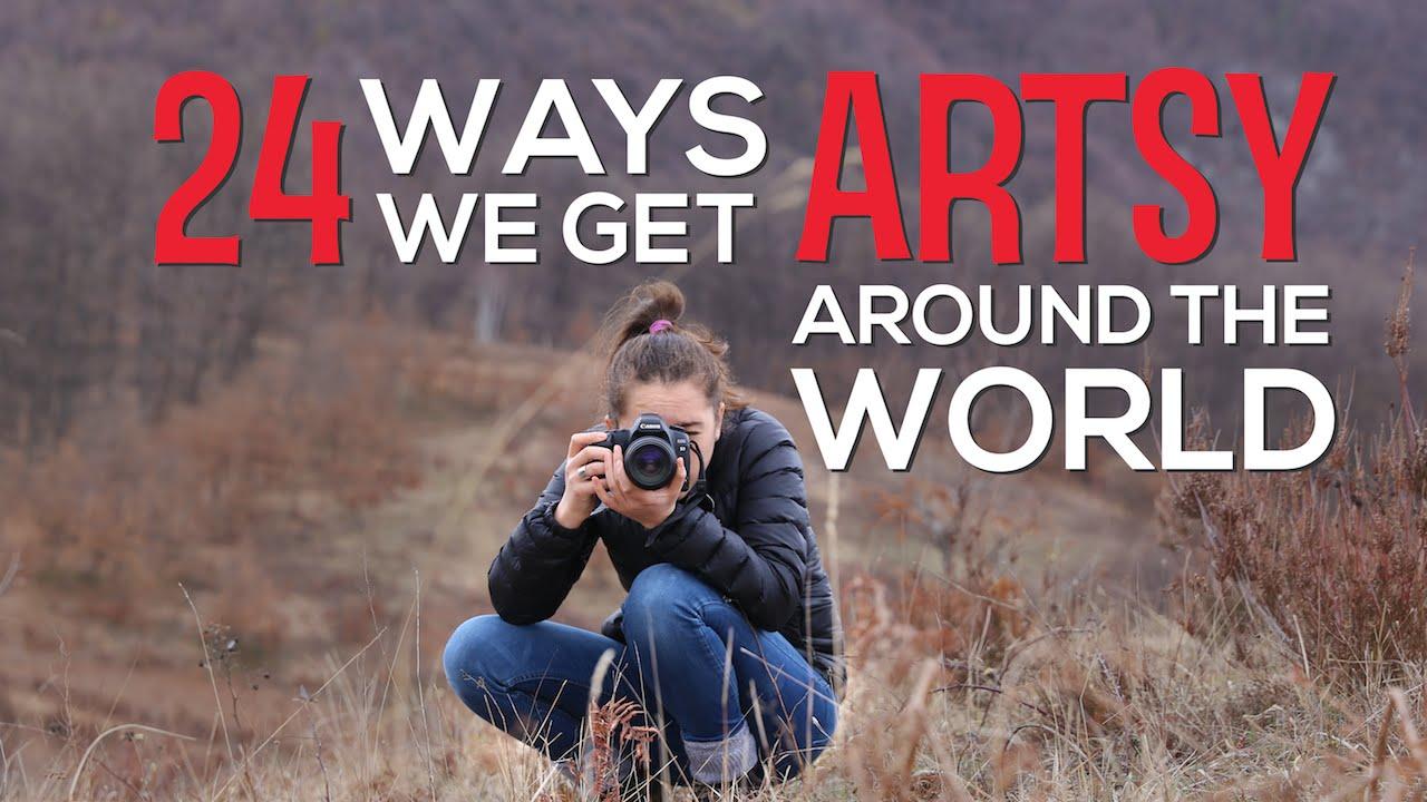 24 ways we get artsy around the world
