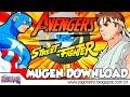 Avengers vs. Street Fighter - MUGEN Games