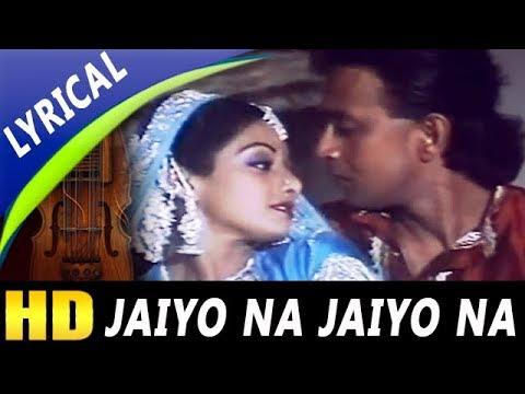Jaiyo Na Jaiyo Na With Lyrics  Shailendra Singh, Lata Mangeshkar  Guru Songs  Mithun, Sridevi