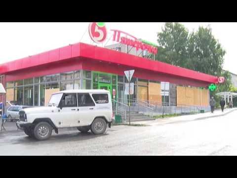 Дебошир напал на продавца магазина на Динасе