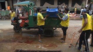 পশু কোরবানির পরপরই পরিবেশ দূষণমুক্ত রাখতে চলছে বর্জ্য অপসারণ | Eid Ul Adha | Somoy TV