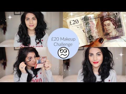 £20 Makeup Challenge & Budget Makeup Haul