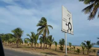 Lome, Togo - coastal drive