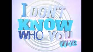 Sam Withers ft. Bec & Sebastian - I Don't Know Who You Are (Radio Edit)