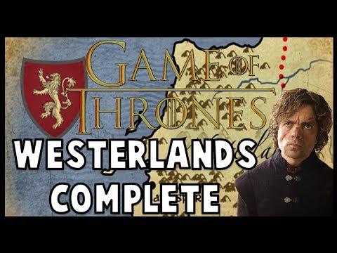 Westerlands / Lannister History (COMPLETE)