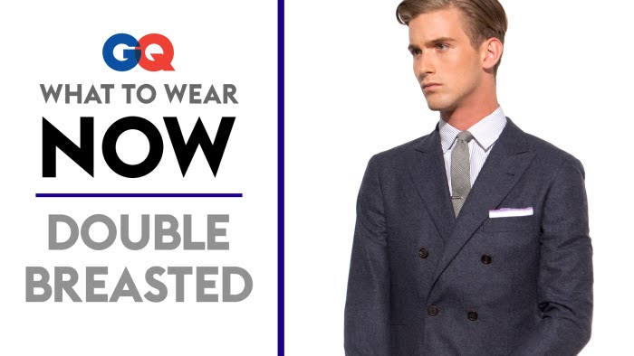 How to Wear a Double–Breasted Suit – What to Wear Now | Style ...